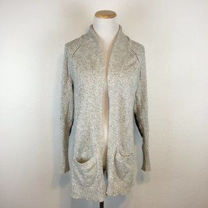 Gap Women's Thick Elbow Patch Cardigan Sweater
